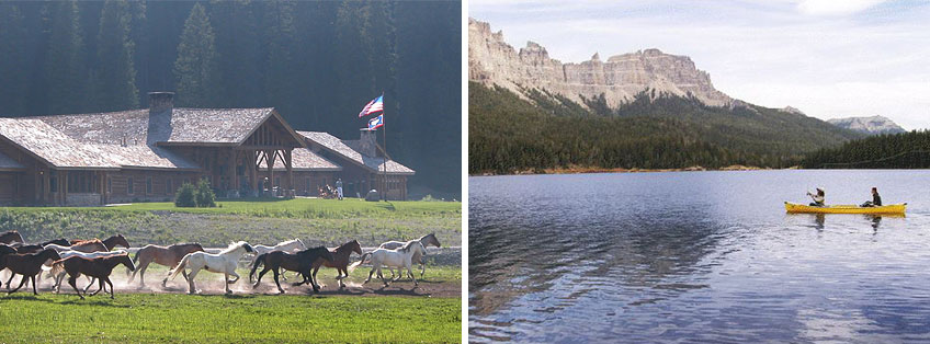 Travel and Hotel PR: Brooks Lake Lodge & Spa Wyoming
