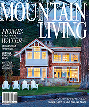 WRJ Design in Mountain Living magazine