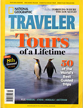 National Geographic Traveler for Africa Adventure Consultants