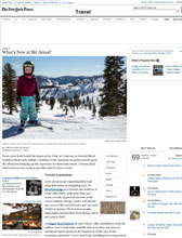 New York Times for The Landing Resort and Spa