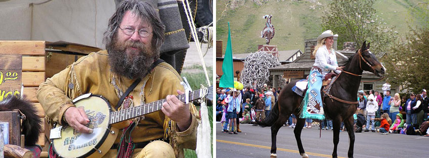 Events PR: Old West Days Jackson Wyoming