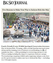 ElkFest, Old West Days, Wildlife Expeditions in Big Sky Journal
