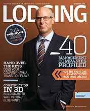 Lodging Magazine for The Landing Resort and Spa