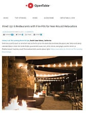 The Landing Resort & Spa in Open Table Blog