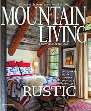 JLF Architects and WRJ Design in Mountain Living
